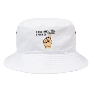 HAND SPINNER-ハンドスピナー- Bucket Hat
