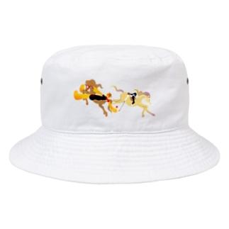 騎馬打球 Bucket Hat