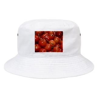 やまもりさくらんぼちゃん Bucket Hat