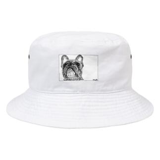 今日のムニュ【モノクロ】 Bucket Hat