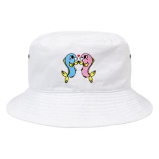 カップルウオ Bucket Hat