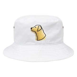 ラブラドール・レトリーバー〈水彩・滲み風〉 Bucket Hat