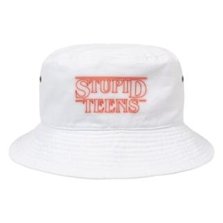 STUPID TEENS Bucket Hat