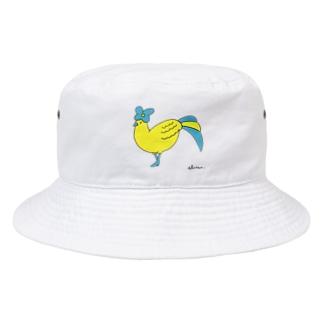 鳥婦人 Bucket Hat