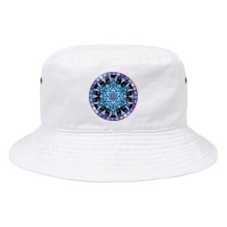 ステンドグラス Bucket Hat