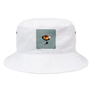 レトロなプリン Bucket Hat