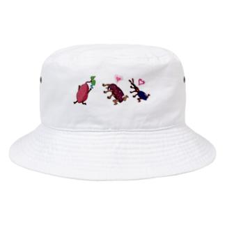 いりむさーいらんさー(文字無しver.) Bucket Hat