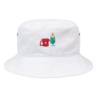 クリームソーダとダイヤル式でんわ Bucket Hat