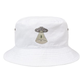 UFOから宇宙人 Bucket Hat