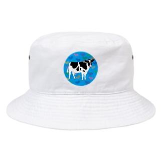 牛さんモーモー Bucket Hat