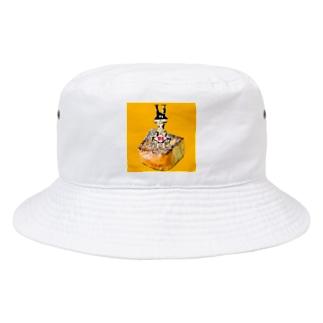 倒福パイルドライバー@フレンチトーストフィールド Bucket Hat