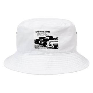 レトロトラック Bucket Hat