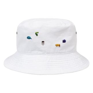 5つのもの(ちらばり) Bucket Hat