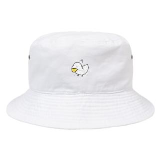 疑問符とアヒル Bucket Hat