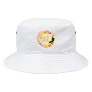 拉麺 Bucket Hat