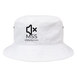MSSアイテム(黒ロゴ) Bucket Hat