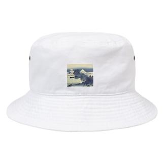 浮世絵BLUE展ミュージアムグッズ Bucket Hat