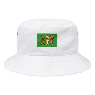 ガウディ ベアー gaudy bear<スケボー><スケートボード> Bucket Hat