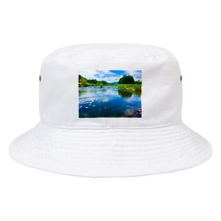 荒川(in栃木) Bucket Hat