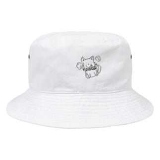 ハァ犬 Bucket Hat