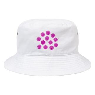 フラワー祭り01 Bucket Hat