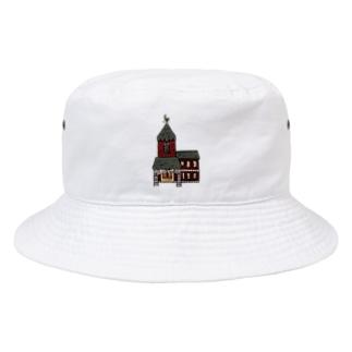 洋館 Bucket Hat