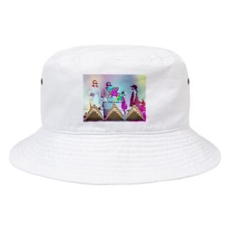 昭和ドリームスターズ「えもえもとくめいきぼう」 Bucket Hat