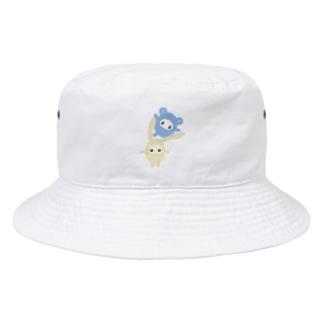 しおはね玩具店の肩ぐるまふれんず Bucket Hat