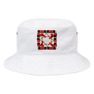 庭のニワトリ Bucket Hat