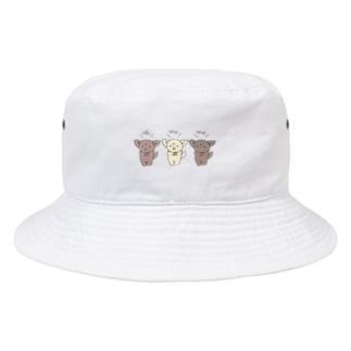 ちわとりお Bucket Hat
