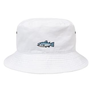 新鮮な鮭 Bucket Hat
