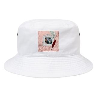 【引退馬支援企画】TUKGA KIREI DESUNE ウォールTYPE Bucket Hat