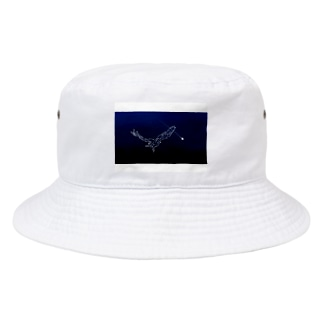 夜空を飛ぶ鳥 Bucket Hat