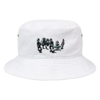 アマオト 劇画 Bucket Hat