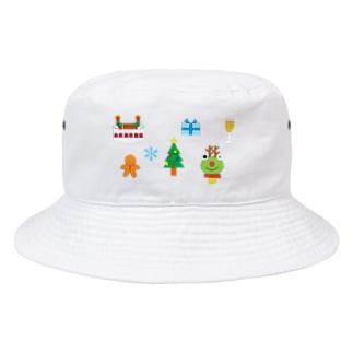 かえるさんのクリスマスA Bucket Hat