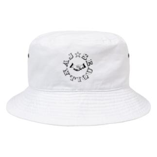 ジャンジャンバリバリジャンティーク Bucket Hat