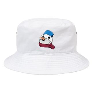 鼻までマスクしよう Bucket Hat