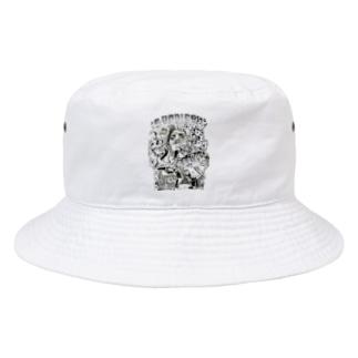 street clips Bucket Hat