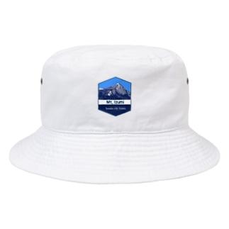 泉ヶ岳ロゴ Bucket Hat
