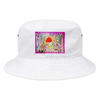 けむり。 Bucket Hat