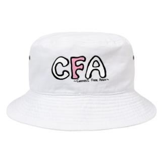 CFAロゴ Bucket Hat