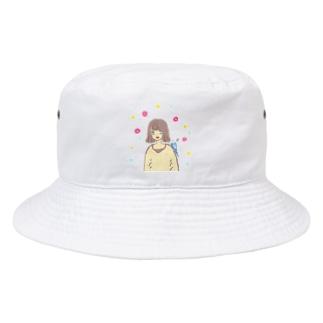 幸せの青い鳥♡ Bucket Hat
