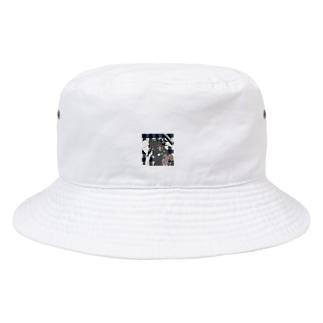 UKIYOE背景の世界展ミュージアムグッズ Bucket Hat