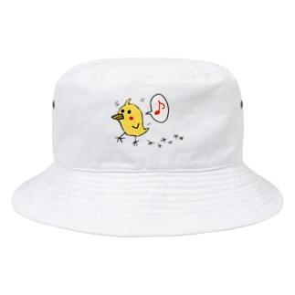 ヒヨコのコマル Bucket Hat