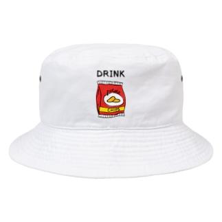 ポテチは飲み物 Bucket Hat