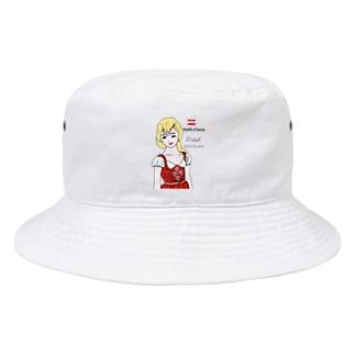 ディアンドル Bucket Hat