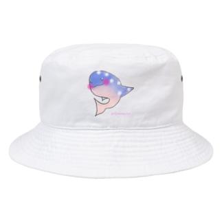 Hope CREATIVE DANCEのWhale shark〜ジンベイさん〜 Bucket Hat