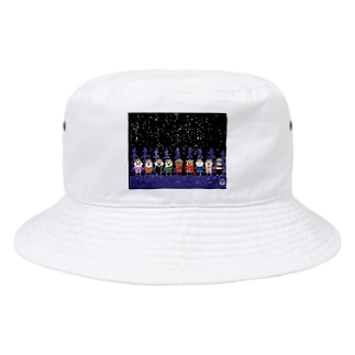 長与 千種 Chigusa Nagayoのマーベルドッグス笠地蔵 Bucket Hat