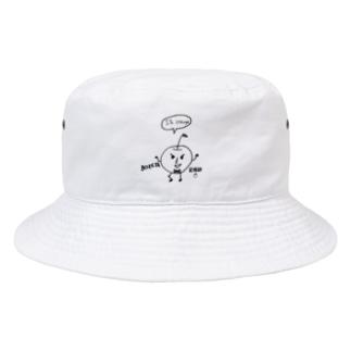 CHANAのボケたりんご Bucket Hat