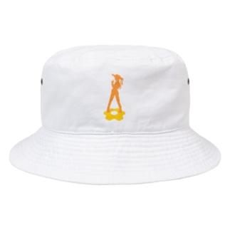 83FAMI x MAYO シルエット Bucket Hat